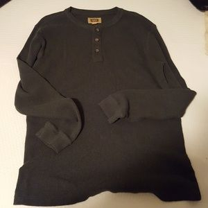 Other - The Foundry Supply Co. Green men's thermal shirt